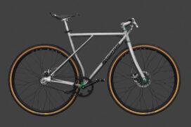 Titan Citybike Titan Bike gefertigt von vigmos.de dem individuellen Fahrradbauer von Titanbikes in Leipzig