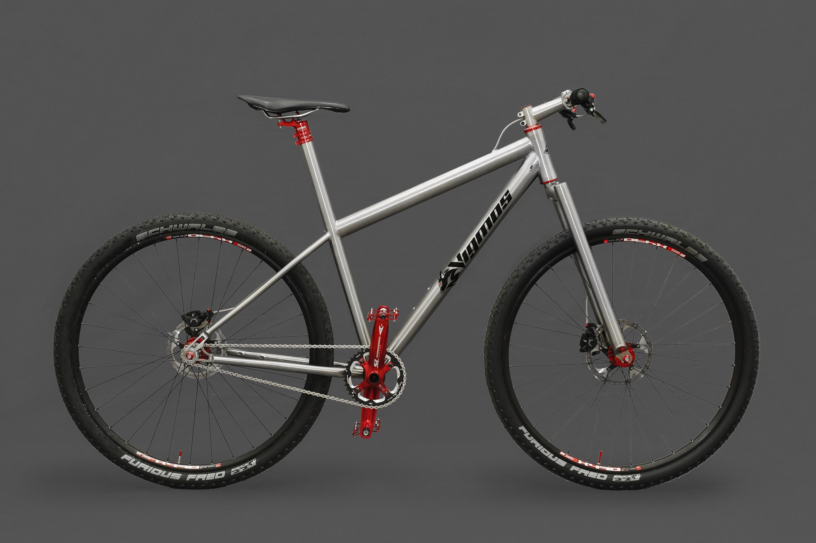 29er Titanrad Erlkönig titanium bike - Individueller Fahrradbau ...