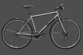Preise für ein Cityrad aus Titan und den Preis für einen Cityradrahmen aus Titan bei Vigmos.de