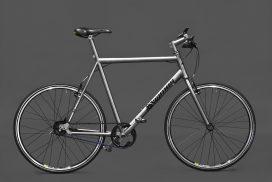 Titan City Bike - Titan Bike gefertigt von vigmos.de dem individuellen Fahrradbauer von Titanbikes in Leipzig