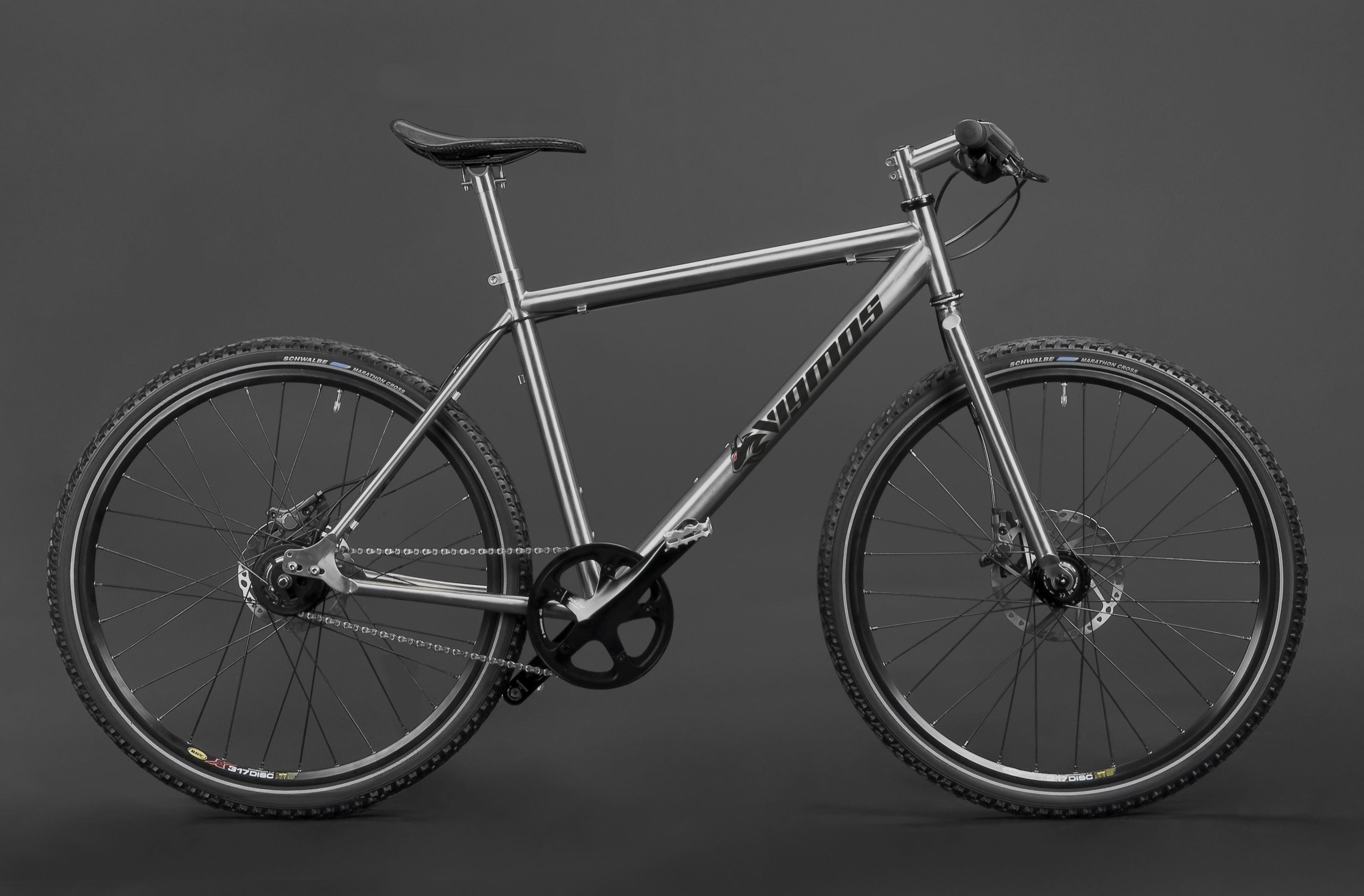 Titan 26/28″ Alfine Bike – Individueller Fahrradbau – Titanteile