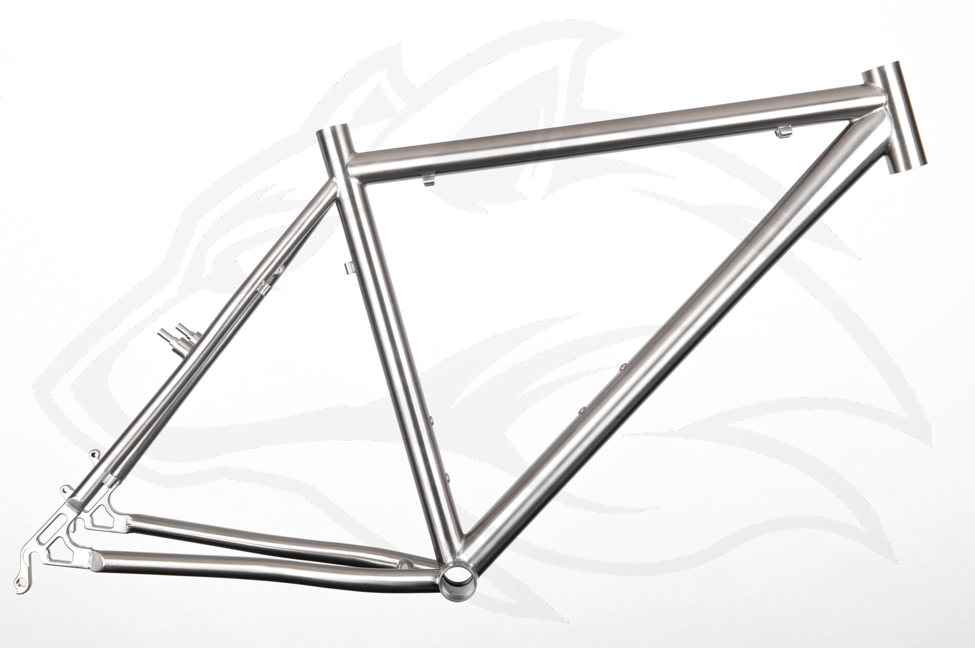 26er MTB Standardrahmen - Individueller Fahrradbau - Titanteile