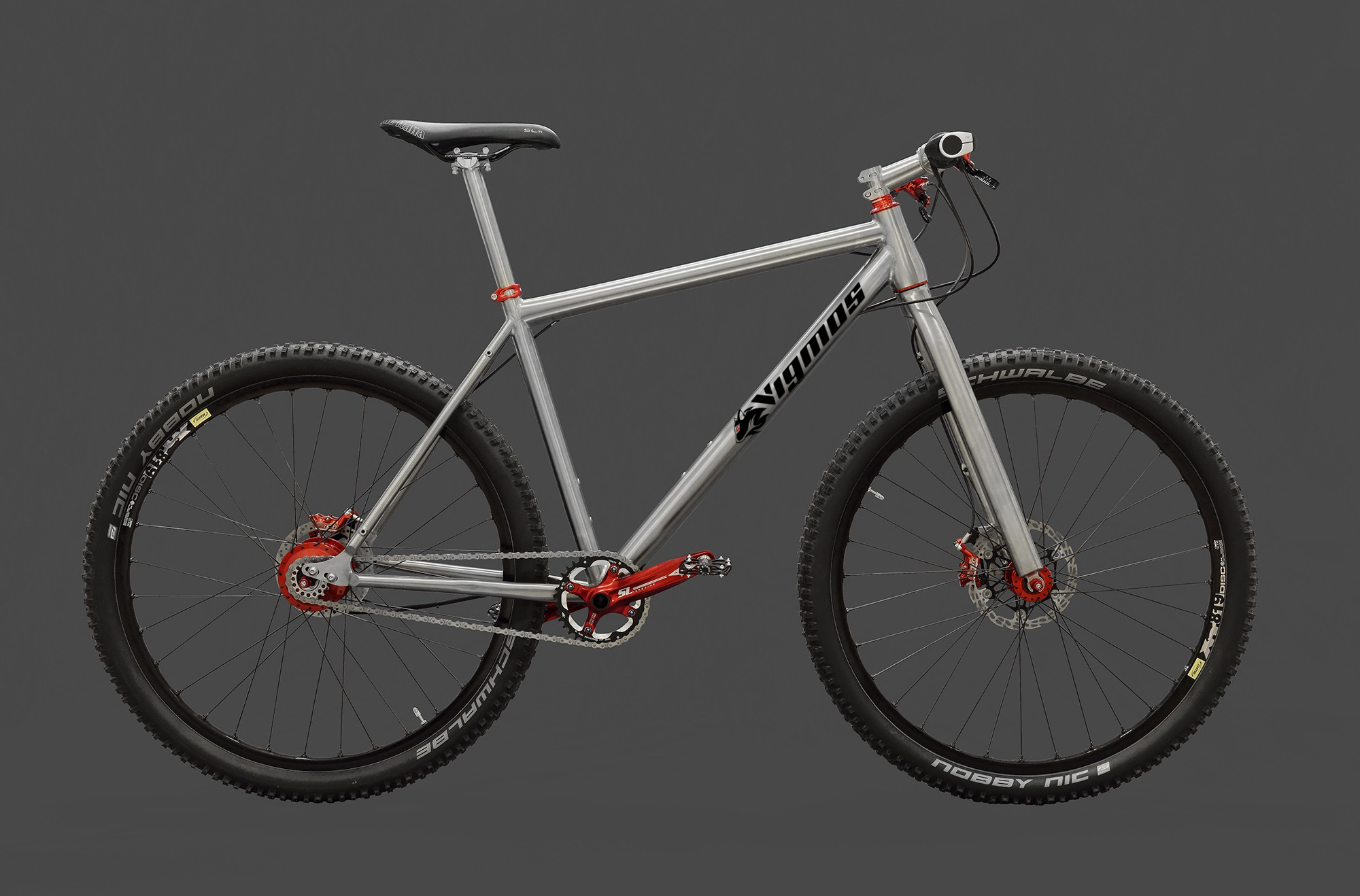 Titan Erlkönig Rohloff - Individueller Fahrradbau - Titanteile