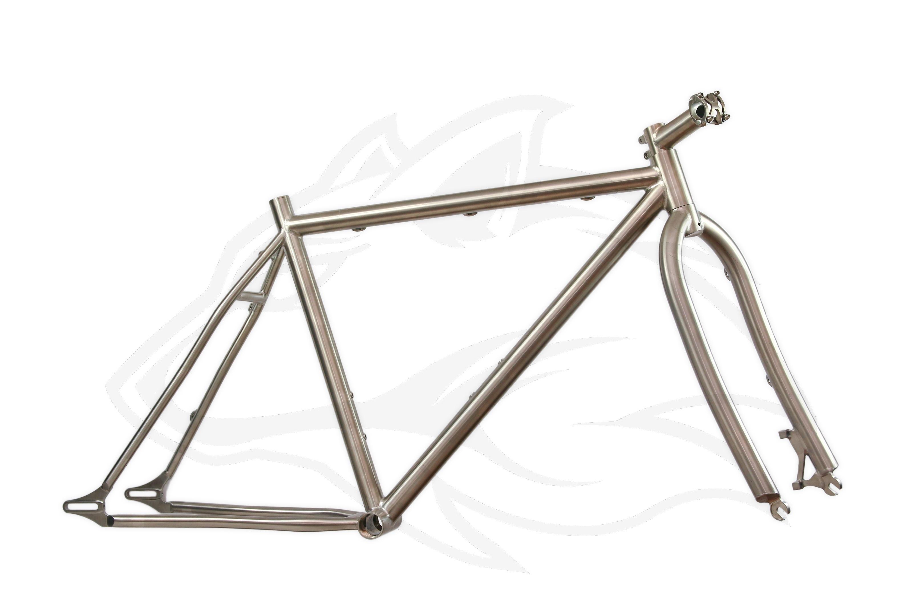 Titan Fatbike Set inkl. Gabel - Individueller Fahrradbau - Titanteile