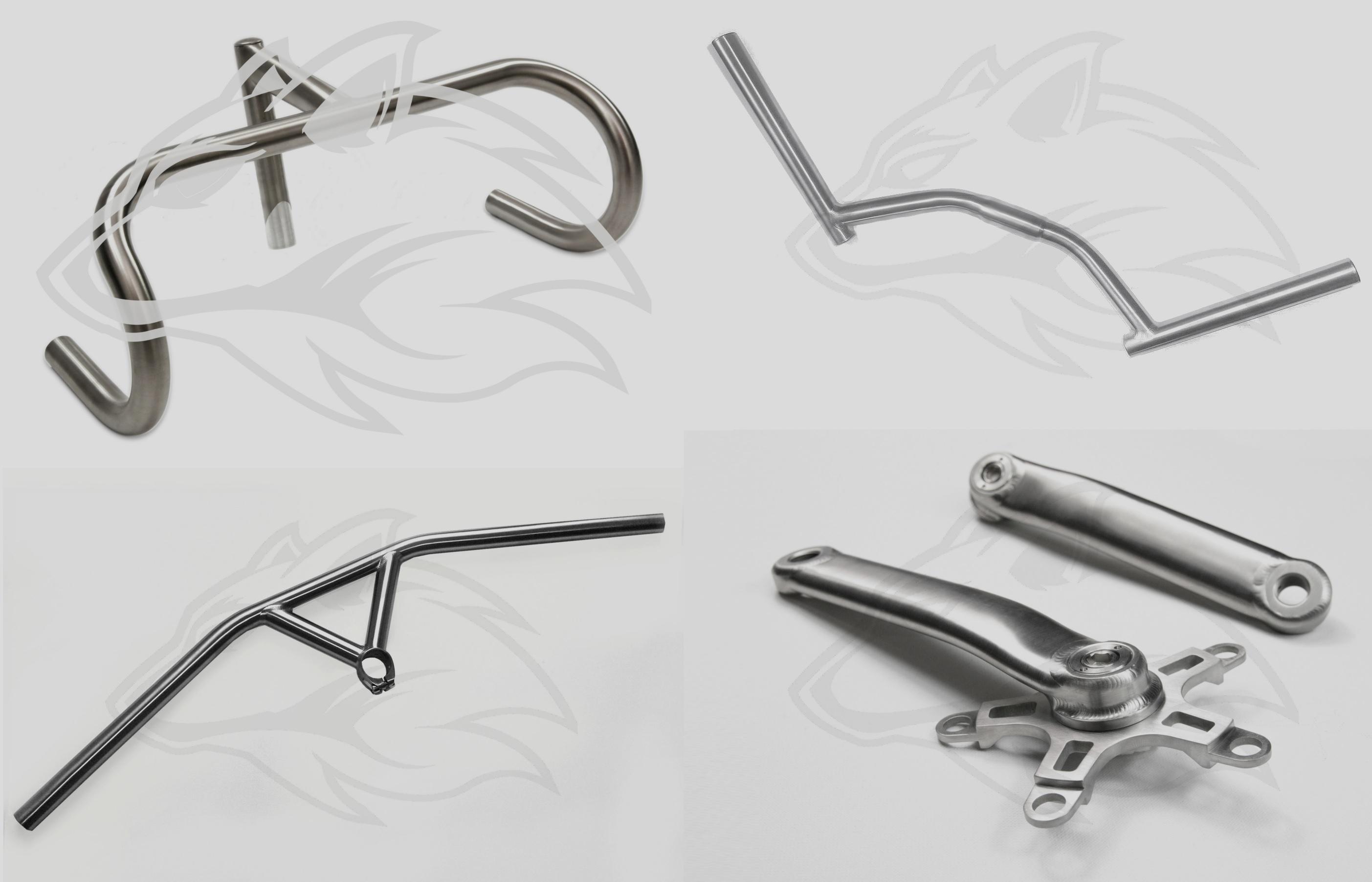 Titanmaßteile - custom parts