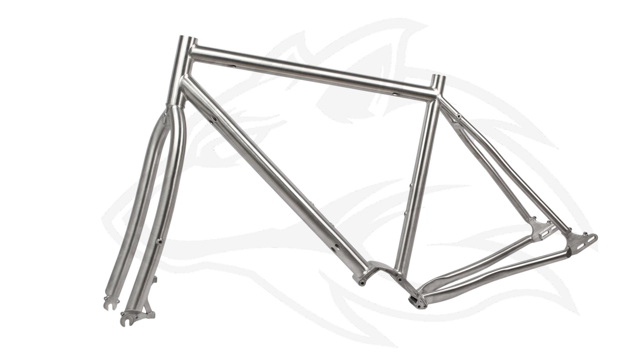 Pinion Titan Reiserad Set – Individueller Fahrradbau – Titanteile