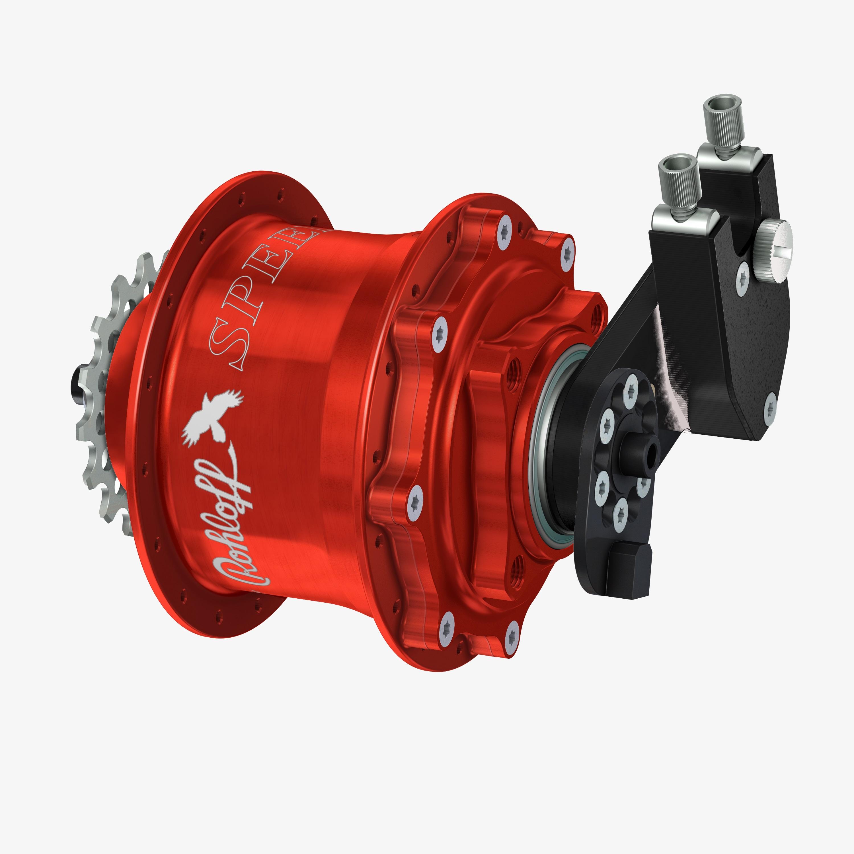 Rohloffantrieb - 14 gear system
