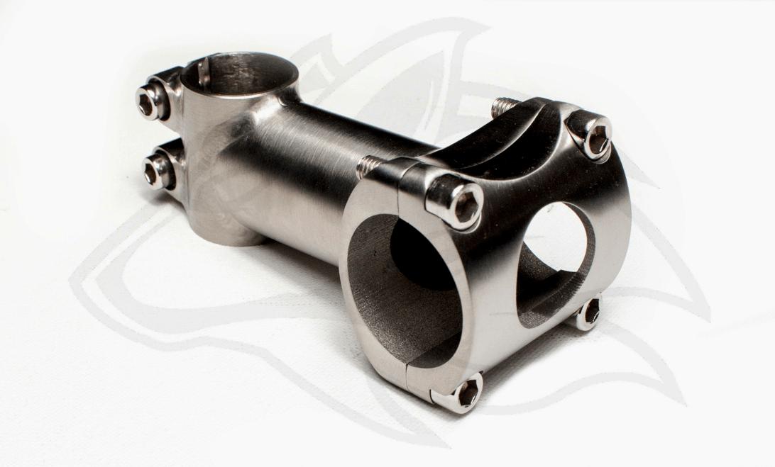 Titan Vorbau 1Zoll Adapter 31,8 - Individueller Fahrradbau - Titanteile