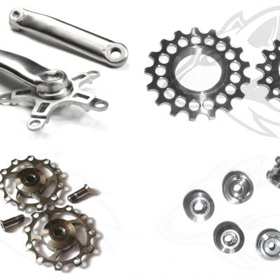 Titanantrieb - titanium gear system