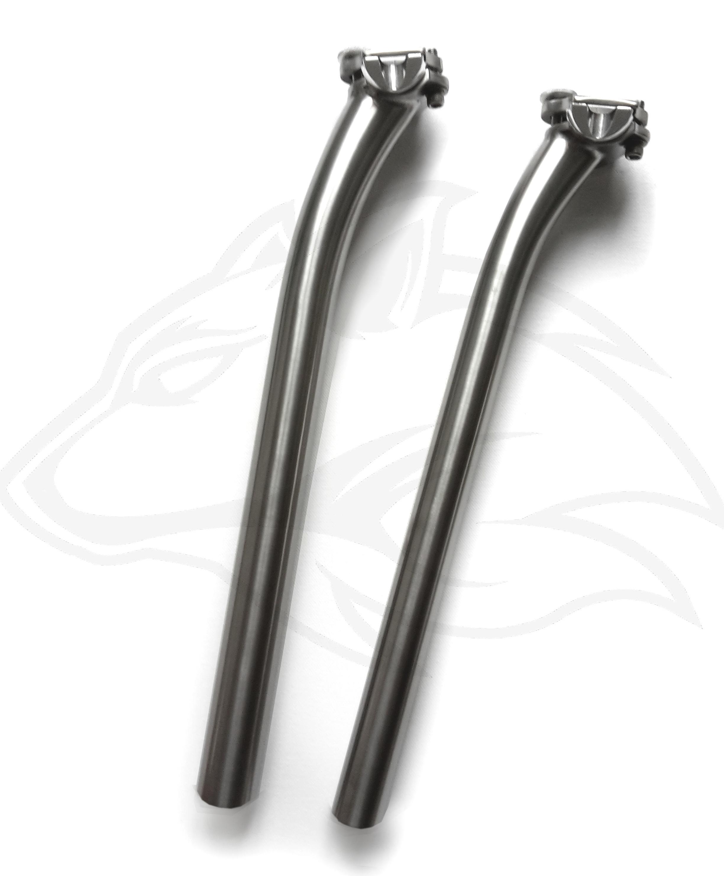 Titan Sattelstütze 25mm Versatz CNC Kopf – Individueller Fahrradbau ...