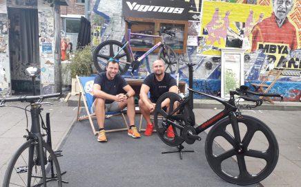 Der Chef von Vigmos.de ihr Fahrradbauer und Spezialist für Titanteile Titanparts
