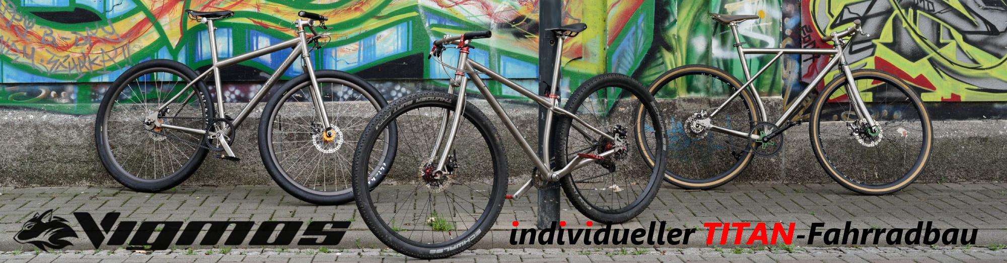 Individueller Fahrradbau - Titanteile Logo